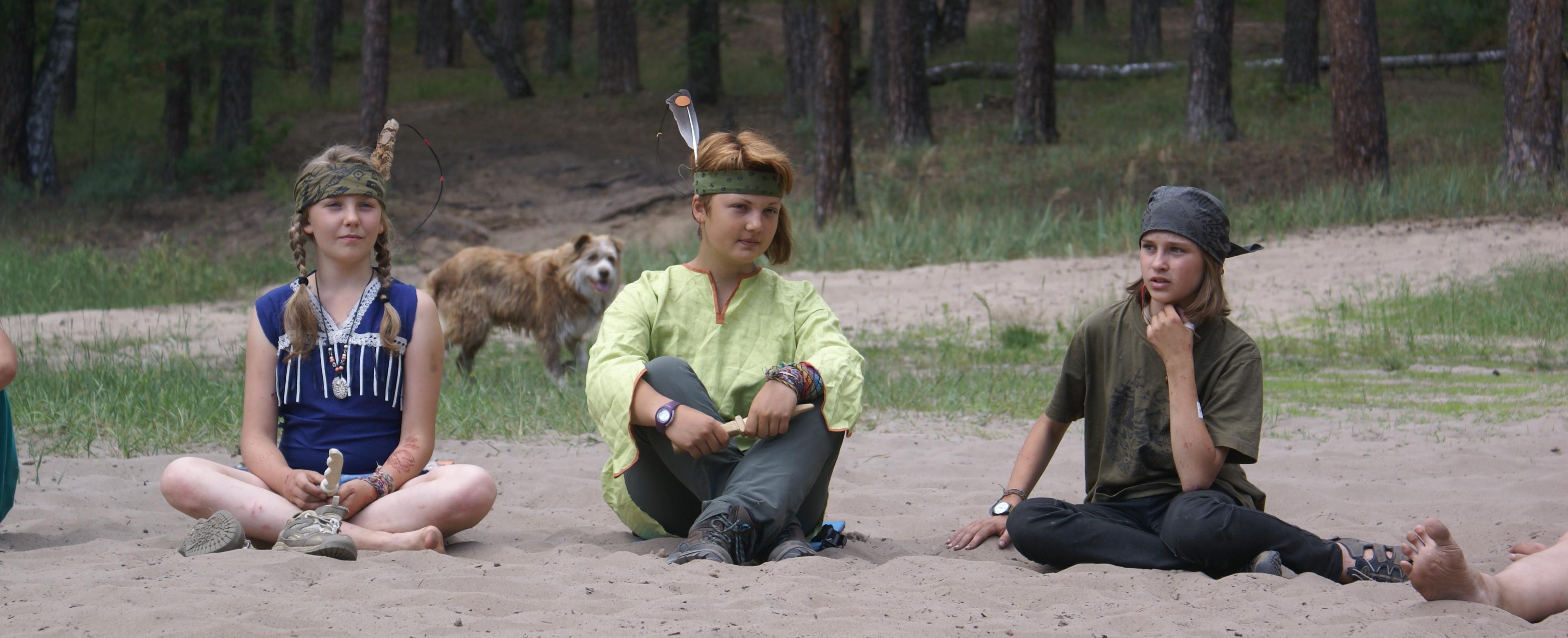 <span>Живи, как живет индейское племя</span>