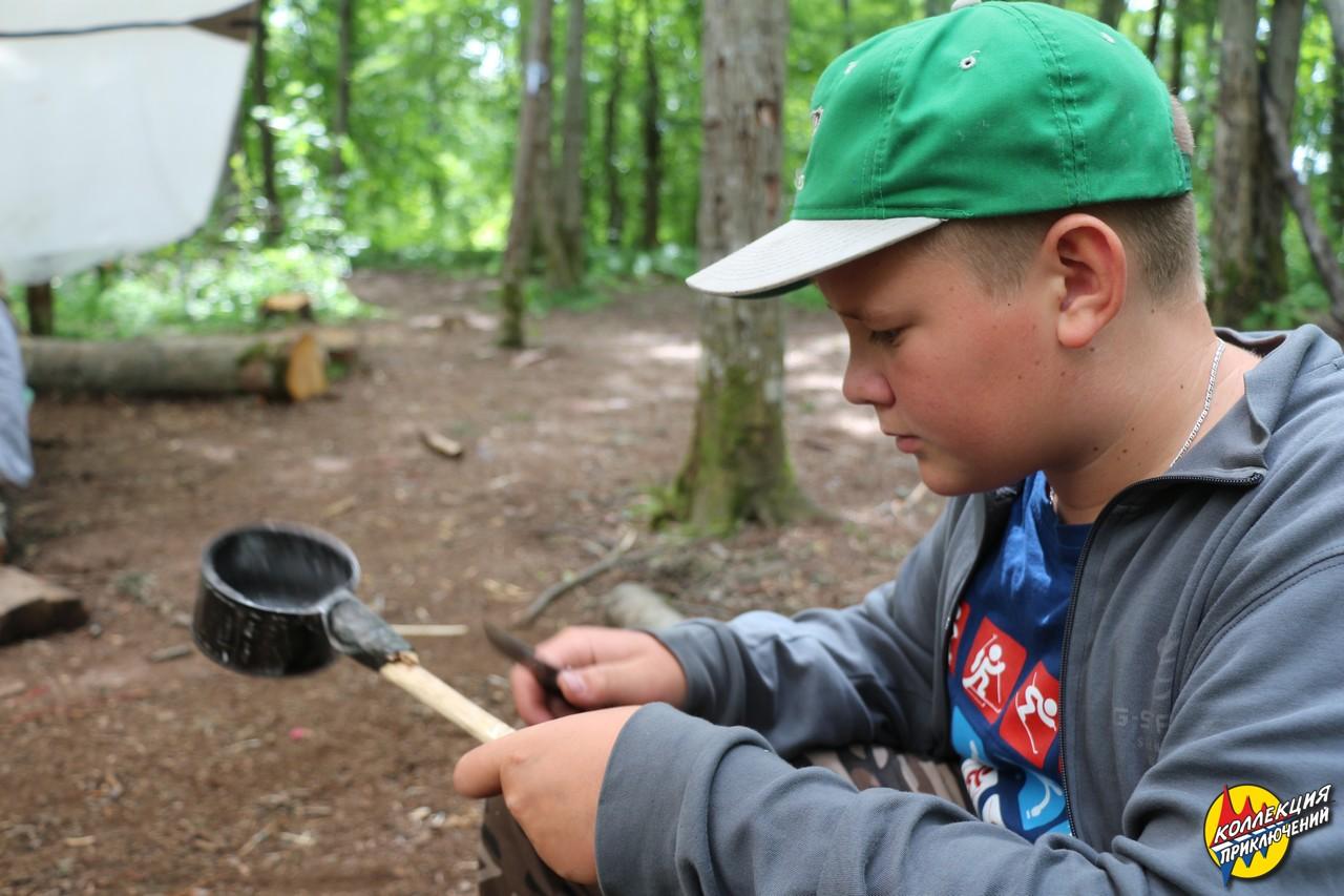<span>Получить навыки обеспечения жизни в лесу</span>