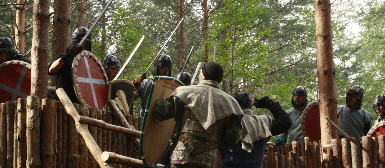 <span>Если ты мечтаешь взять штурмом крепость - вот она, твоя возможность - приезжай и бери!</span>