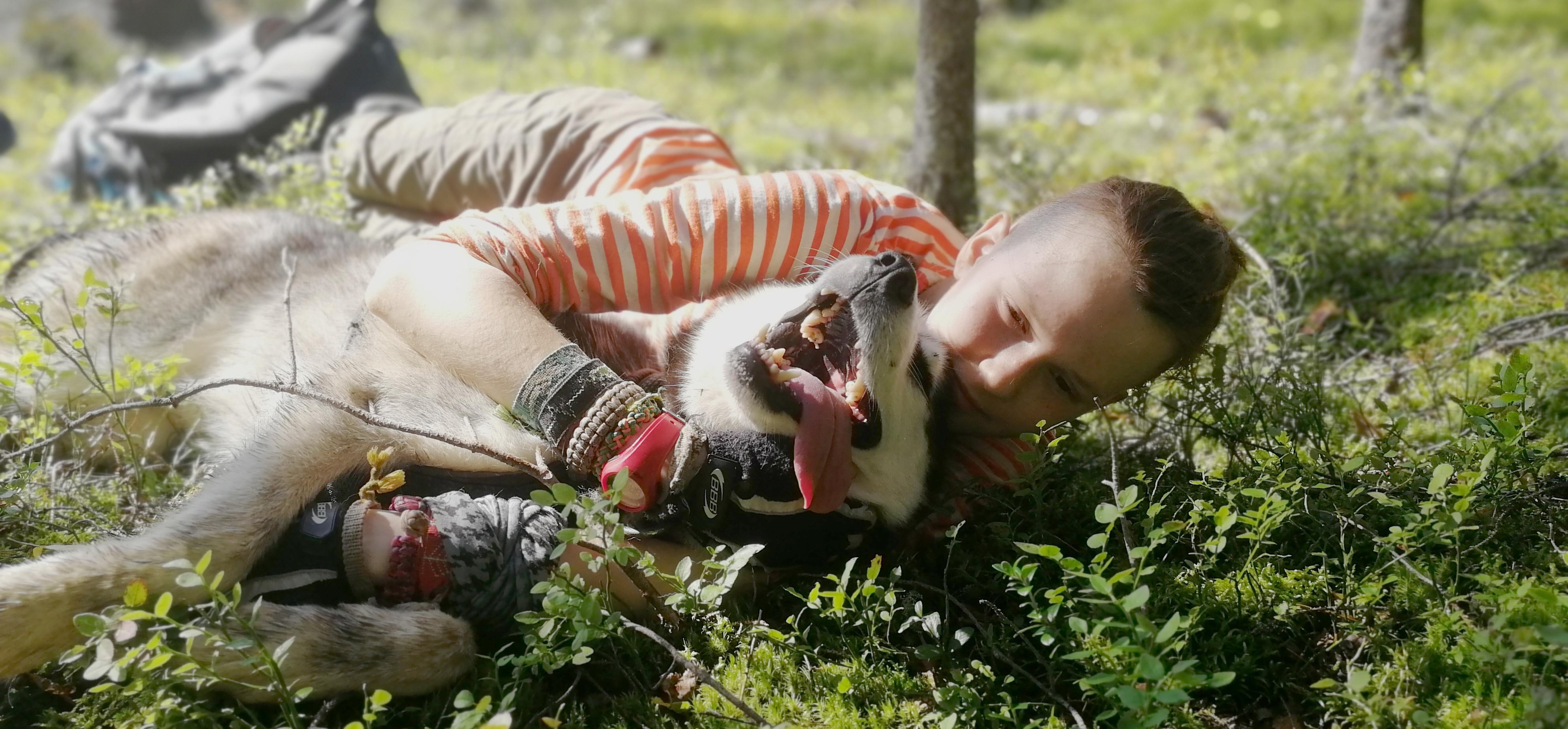 <span>Быть каюром означает быть со своей собакой везде</span>