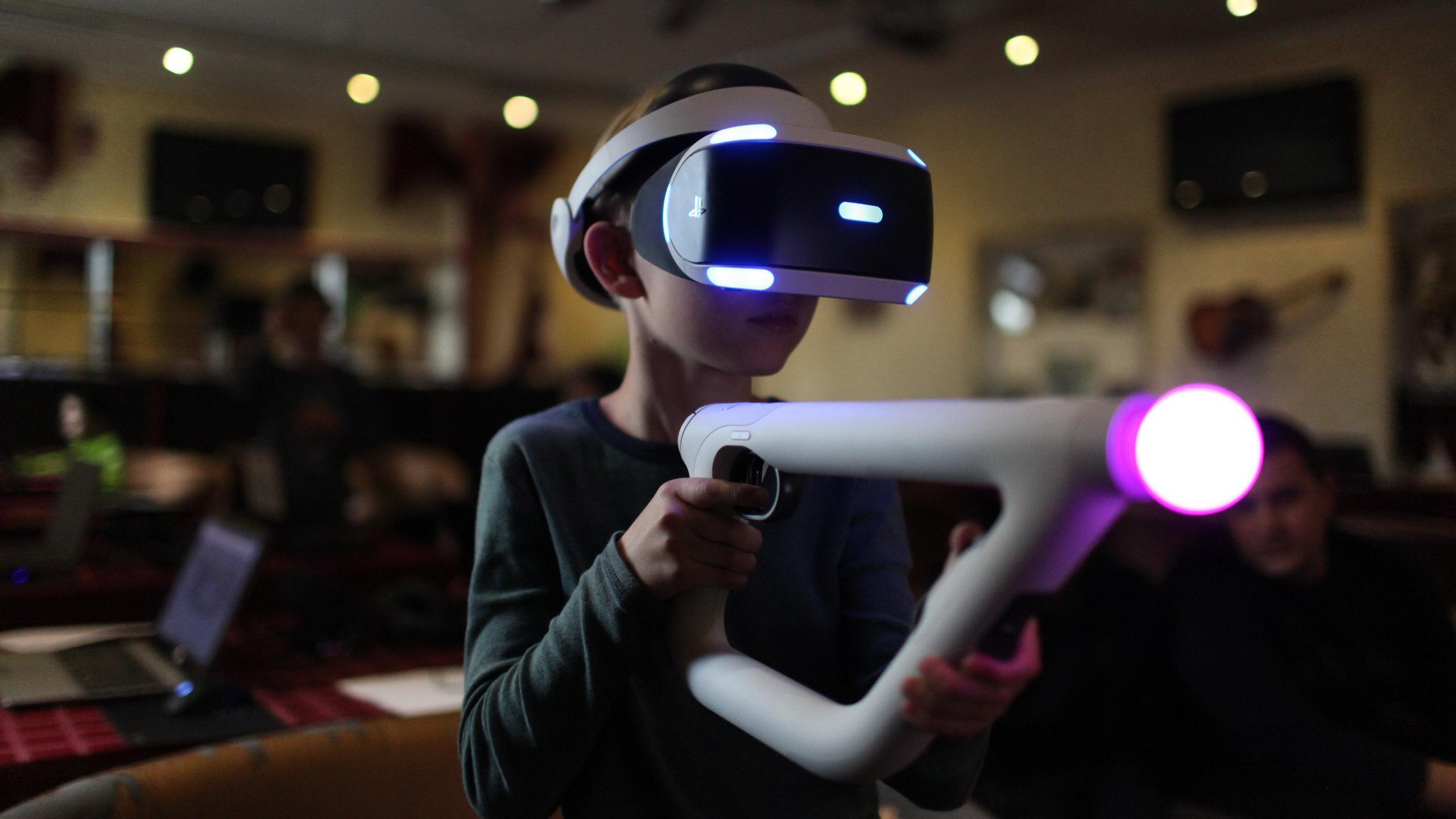 <span>Погружение в виртуальную реальность</span>