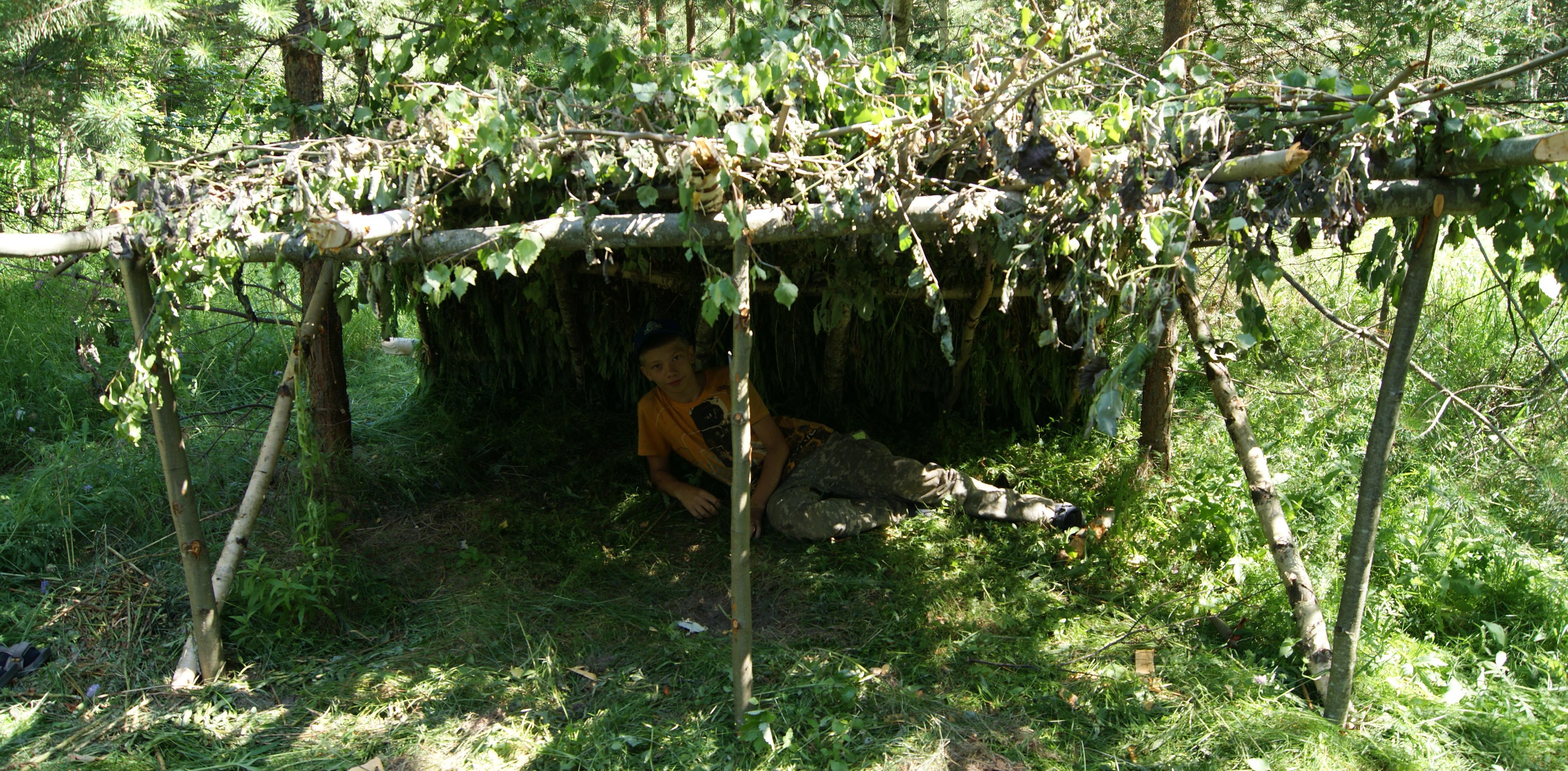 <span>Постановка и обеспечение лагеря (палатки, тенты, кухня, костры, узлы)</span>